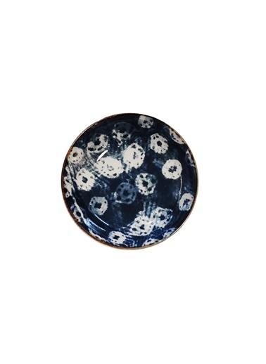 LWP Shop Nanu Nana Tasarım Lacivert Porselen 14 cm Yatay Kase-2 Lacivert